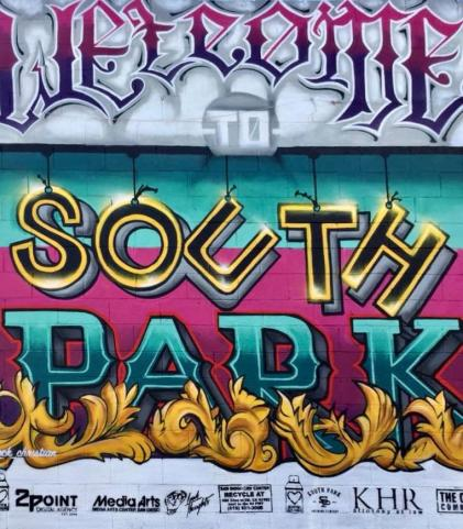 south park mural